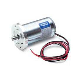 Leeson DC Motor Low Voltage 1/6HP, 3000RPM, 56D, IP44, 12V, S1, 40C, 1.0SF, B14, Commercial Duty