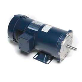 Leeson DC Motor General Purpose 1/3HP, 1750RPM, 56C, TEFC, 180V, 40C, Rigid C, NEMA