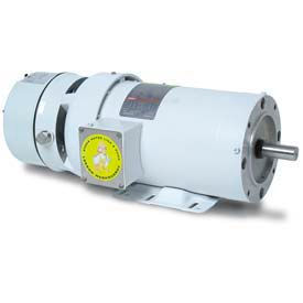 Leeson 3-Phase Washguard Duty Motor 1.5/1HP, 1740/1440RPM, 145, TEFC, 208 230/460V, 60/50HZ, Rigid C