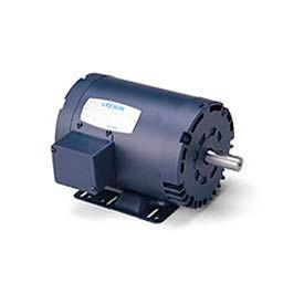 Leeson 132234.00, Premium Eff., 3 HP, 1760 RPM, 208-220/460V, 182T, DP, Rigid