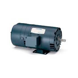 Leeson Motors 3-Phase Brake Motor 5HP, 1760RPM, 184, DP, , 60HZ, 40C, 1.15SF, Rigid C