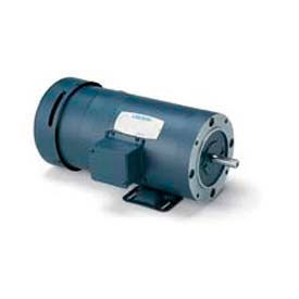 Leeson 3-Phase Brake Motor 7.5HP, 1760/1450RPM, 213, TEFC, 208-230/460V, 60/50HZ,1.15SF, Rigid C