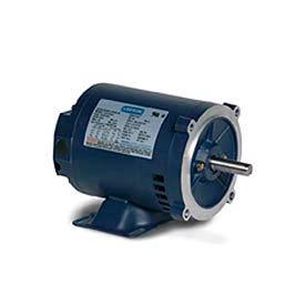 Leeson 141119.00, Premium Eff., 15 HP, 3510 RPM, 208-220/460V, 215TC, DP, C-Face Rigid