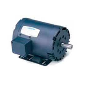 Leeson Motors 3-Phase Farm Ag Motor 7 1/2HP, 1760RPM, 213T, DP, 200-208/400-416V, 60HZ, Rigid