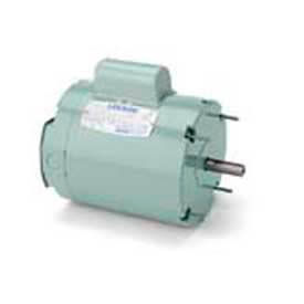 Leeson Single Phase Farm Ag Motor 1/2HP, 1625RPM, 48Y, TENV, 115/230V, 60HZ, Airover, Auto, Special