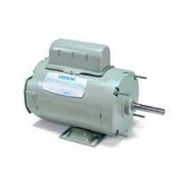 Leeson Single Phase Farm Ag Motor 1/3HP, 1725RPM, 48Y, TENV, 115/230V, 60HZ, Airover, Auto, Rigid