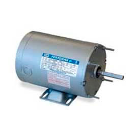 Leeson Single Phase Farm Ag Motor 1/3HP, 1625RPM, 48Y, TENV, 115/230V, 60HZ, Auto, Rigid