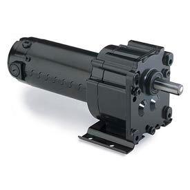 Leeson M1115028.00, 1/20 HP, 51 RPM, 90VDC, TENV, P300, 35:1 Ratio, 55 In-Lbs