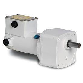 Leeson M1125268.00, 1/8 HP, 14 RPM, 90VDC, TENV, PE350, 180:1 Ratio, 341 In-Lbs
