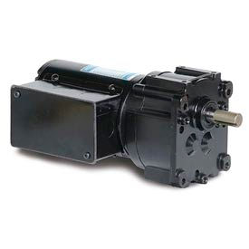 Leeson M1125283.00, 1/15 HP, 57 RPM, 208-230V, 3-Phase, TENV, PZ, 30:1 Ratio, 56 In-Lbs