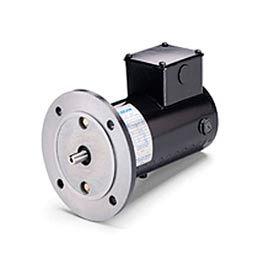 Leeson Motors Metric DC Motor-.18-.25 KW, 180V, 1800RPM, IP54, B5