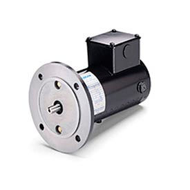 Leeson Motors Metric DC Motor-1/4HP, 180V, 3000RPM, IP54, B5