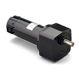 Leeson M1135117.00, 1/4 HP, 21 RPM, 90VDC, TENV, PE350, 124:1 Ratio, 371 In-Lbs