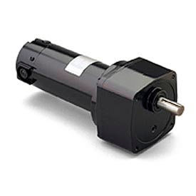 Leeson M1135141.00, 1/4 HP, 21 RPM, 180VDC, TENV, PE350, 124:1 Ratio, 371 In-Lbs
