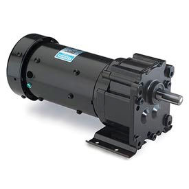 Leeson M1145026.00, 1/15 HP, 70 RPM, 115/230V, 1-Phase, TENV, P240, 23:1 Ratio, 61 In-Lbs
