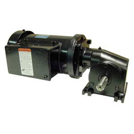 Leeson M1145131.00, 3/8 HP, 345 RPM, 208-230V, 3-Phase, TEFC, 13, 5:1 Ratio, 54 In-Lbs