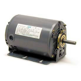 Leeson Motors M900196.00, Single Phase Fan & Blower Motor 1/3HP, 1725RPM, 48, Dp, 60HZ, Cont, Auto