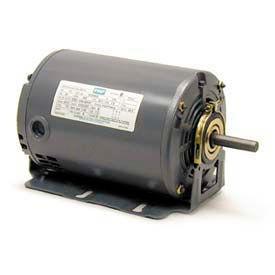 Leeson Motors M900197.00, Single Phase Fan & Blower Motor .50HP, 1725RPM, 48, Dp, 60HZ, Cont, Auto