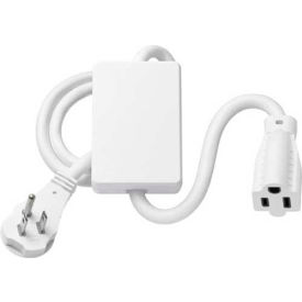 Lutron Plug-In Appliance Module, 1 Receptacle, 120V, 15 Amp, White
