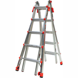 Little Giant Aluminum Velocity Multi-Use Extension Ladder, 22' Type 1A - 15422-001