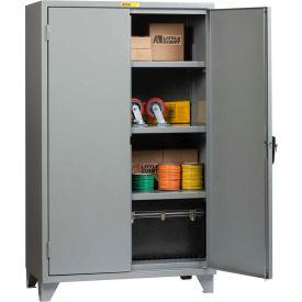 "Little Giant® 12 Gauge High Capacity Storage Cabinet, 3 Adjustable Shelves, 24""W x 60""D"
