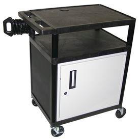 A/V Presentation Station w/ Cabinet - 24x18x35-1/4