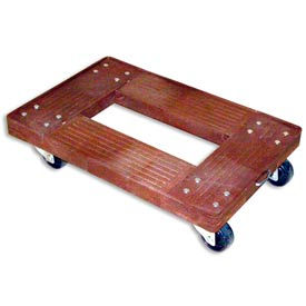 Luxor Plastic Transport Dolly - 16 x 24 x 5-1/2
