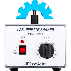 LW Scientific SHL-PPF7-06F1 Pipette Shaker, 6 Pipette Capacity, 2500 RPM by