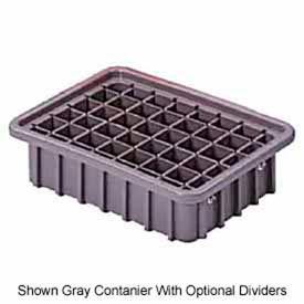 "LEWISBins Divider Box  DC1050 10-13/16"" x 8-5/16"" x 5"", Light Blue - Pkg Qty 16"