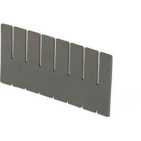 "LEWISBins ESD-Safe Vertical Box Dividers DV2280xL - 20""L  x  7-13/32""H - Pkg Qty 6"