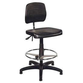 ShopSol Operational Chair with Contoured Polyurethane Seat and Back