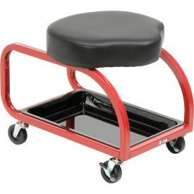 ShopSol Low Profile Shop Stool with Tool Tray