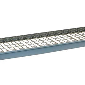 """Wire Decking Panel For Bulk Storage Rack, 36""""Wx30""""D, 1100# Capacity, Gray"""