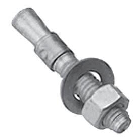 Lyon Concrete Wedge Anchor For Aluminum Locker Bench NF58234 - Price for Pack of 4