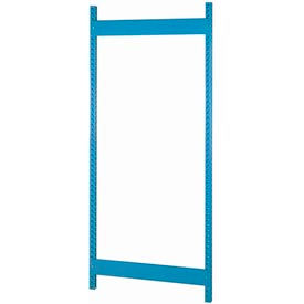 "Bulk Storage Rack Upright, 18""Dx84""H, Gray"