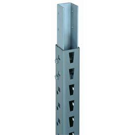 "Bulk Storage Rack Post, 84""H, Gray (2) pcs"