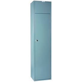"Lyon 18""W Soiled Garment Locker DD6401X - Gray"