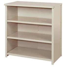 """Lyon Steel Shelving 36""""W x 18""""D x 39""""H Closed Counter Style 4 Shelves Gy Starter"""