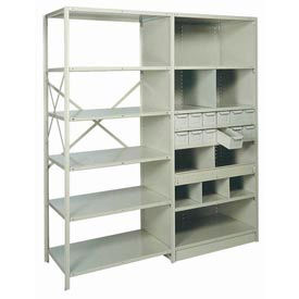 "Shelf, Heavy-Duty, No Label Holder, 36""Wx18""D Gray"