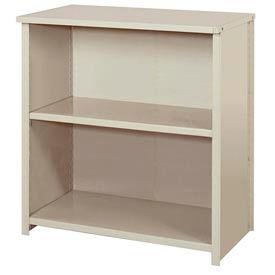 "Lyon Steel Shelving 36""W x 18""D x 39""H Closed Counter Style 3 Shelves Py Starter"