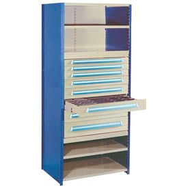 """Modular Drawer For 18""""D Shelving, 4""""H Putty"""