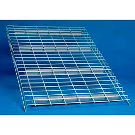 "Wire Decking Panel For Pallet Rack, 52""Wx42""D, 2500# Capacity, Gray"