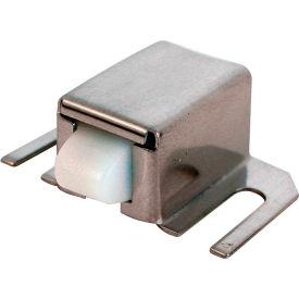 Prime-Line M 6014 Shower Door Catch, Nylon Tip, Stainless Steel