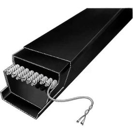 "Classical Cogged ""D"" V-Belt, D158"