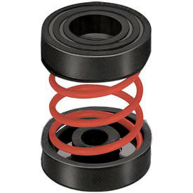"""Unhoused Simple Spring Mount - 2""""L x 2""""W x 2-3/4""""H Red"""