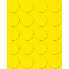 "3/4"" Yellow Magnetic Circles 20/Pk"