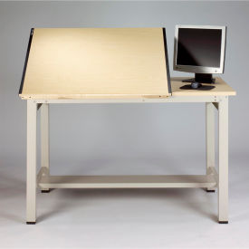 Split-top Drawing Table