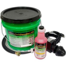QwikDescaler+Kit™ Descaler Solution QT7711 - 1 Quart, Circ. Pump, Mixing Container, Hoses