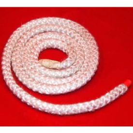 """Mitco 650-21M Hi-Temp Rope, 1/2""""Dia. X 25'L, Round, Non-Asbestos"""