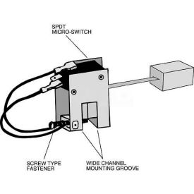 "hvac pumps & circulators   condensate pumps   mitco k41-5m condensate float  switch, low voltage, 60"""